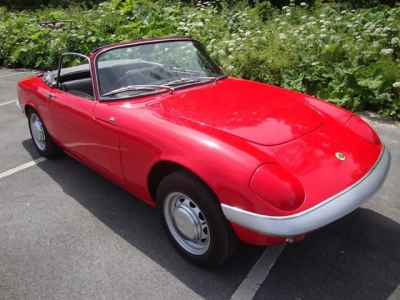 1967 Lotus Elan S3 DHC SOLD