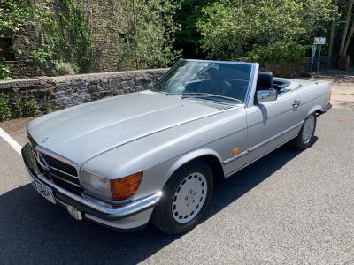 [SOLD] 1986 Mercedes 300SL (W107)