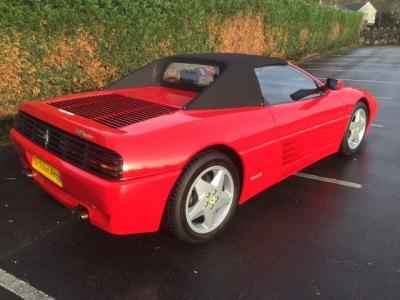 1995 Ferrari 348 spider LHD SOLD