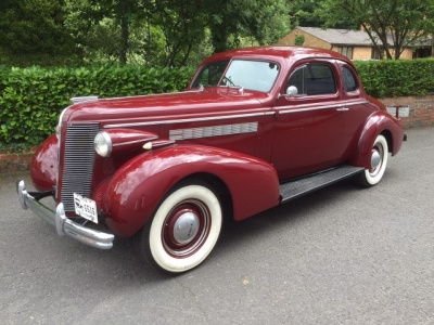 1937 Buick Opera Coupe SOLD!