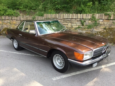 1982 Mercedes 280 SL W107 sports