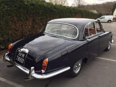 1966 Jaguar 3.4 S Type RHD