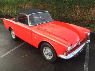 1964 Sunbeam Alpine MK4. Convertible,