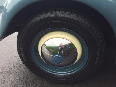 1954 VW Beetle (Oval window)