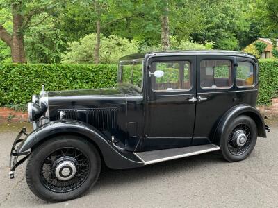 1934 Morris 10/4 sliding head saloon