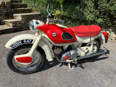1962 Ariel Arrow 250 sports twin