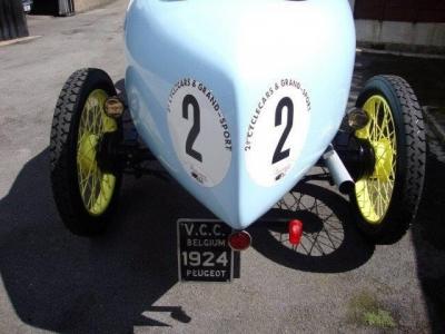 1924 Peugeot 172 BS Bordino