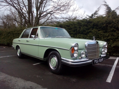 1972 Mercdes 280SE (W108) Manual RHD