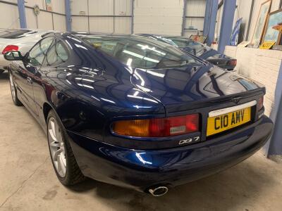 2001 Aston Martin DB7 Vantage 5 speed tip auto