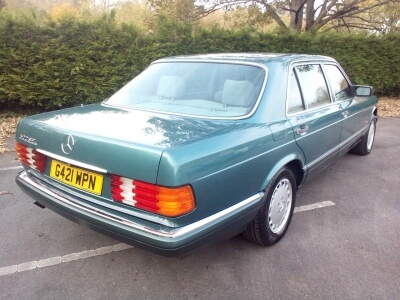 1989 Mercedes 500 SEL W126 Auto