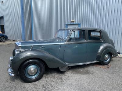 1948 Bentley MK6 manual