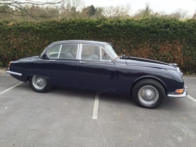 1966 Jaguar 3.4 S Type RHD SOLD!