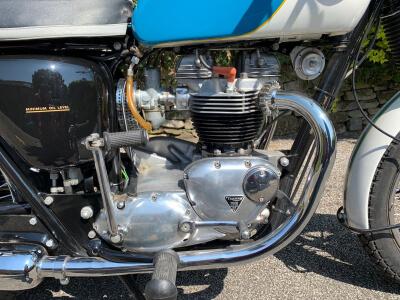 1966 Triumph TR6R Tiger 650