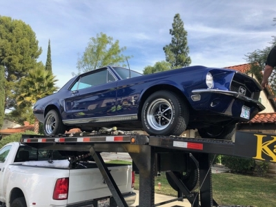 1968 Ford Mustang Coupe SOLD!