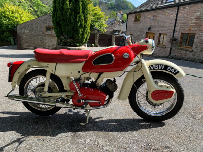 1962 Ariel Arrow 250 sports twin